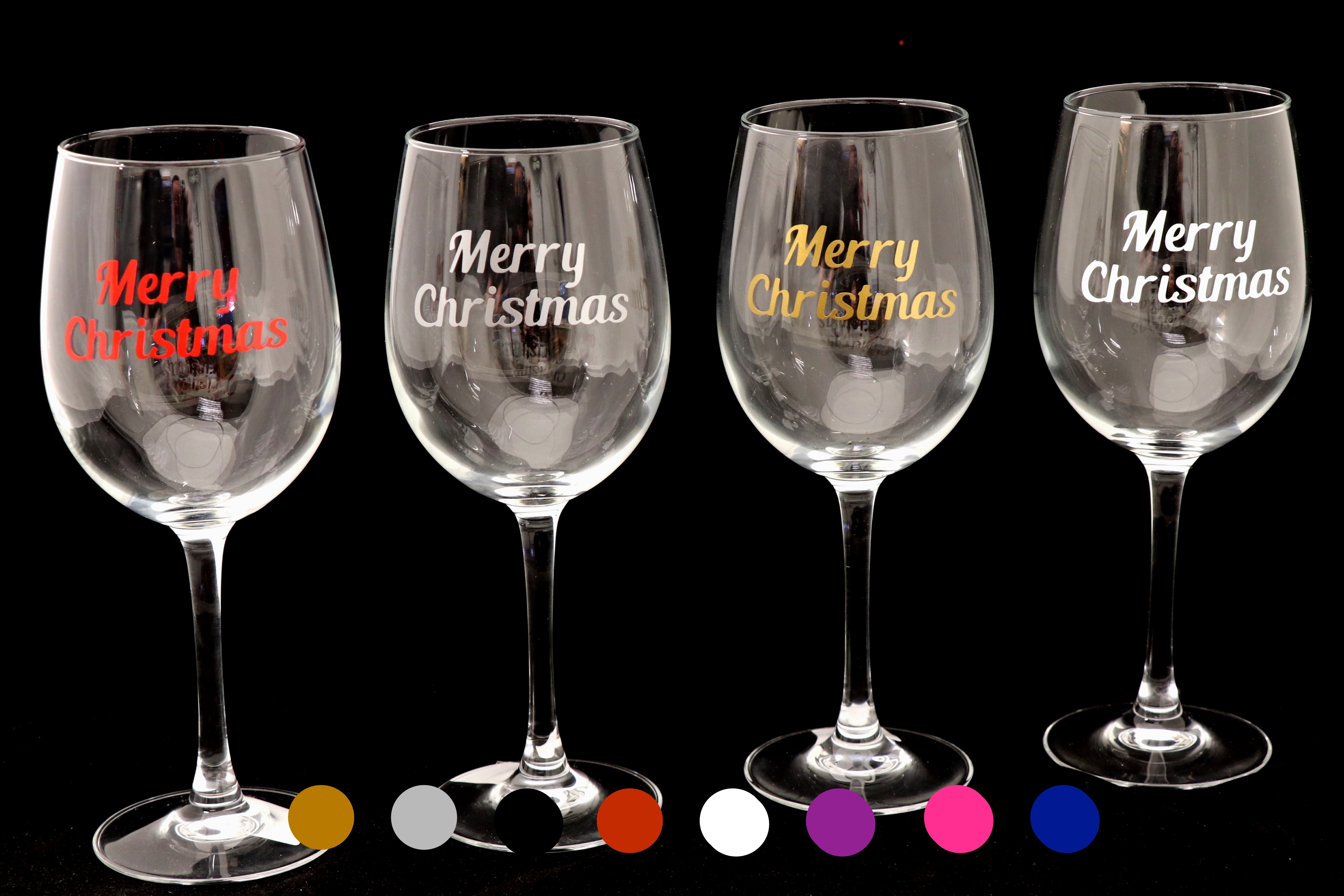 BR-Crafts Merry Christmas Vinyl Stickers