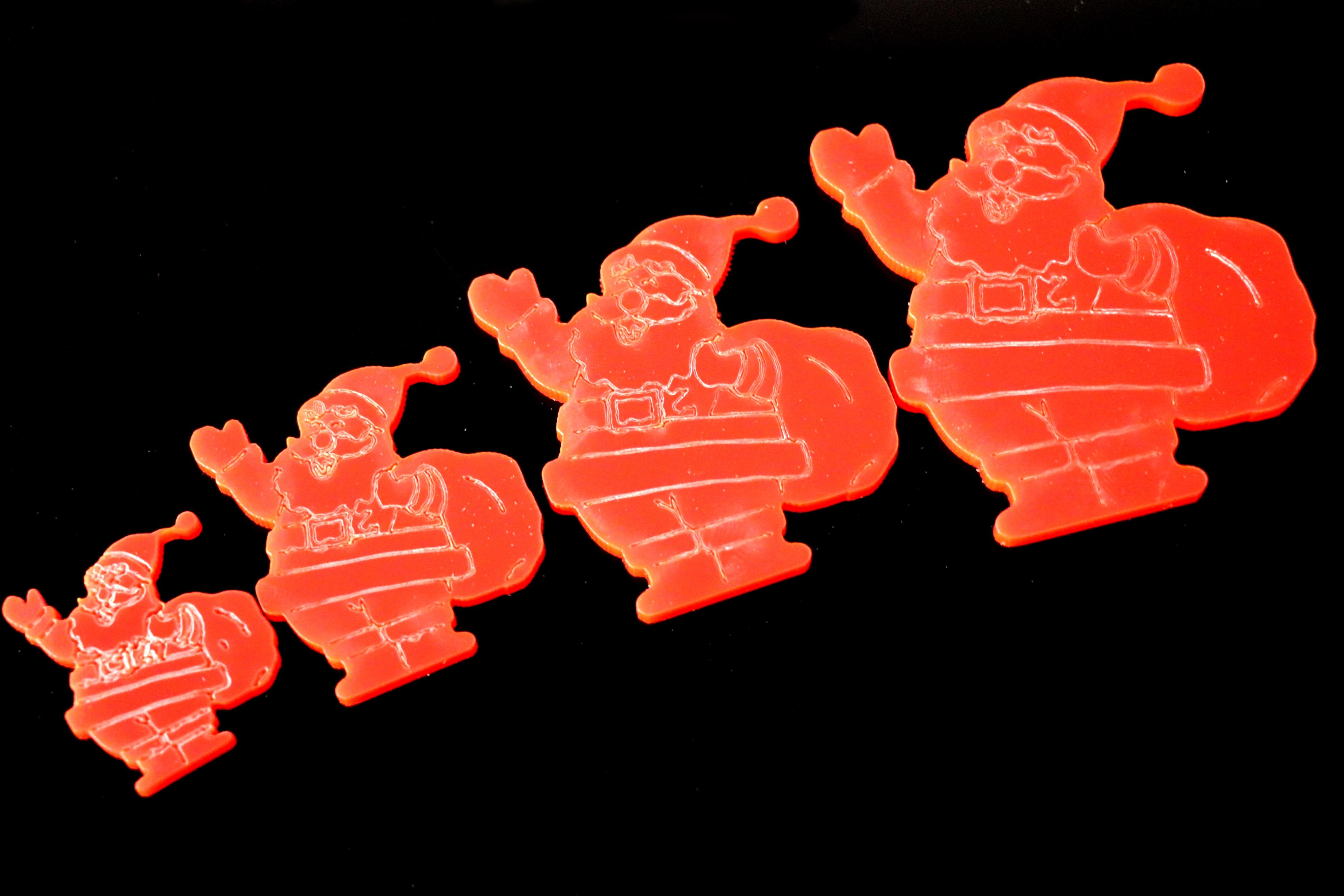 BR-Crafts Acrylic Santa