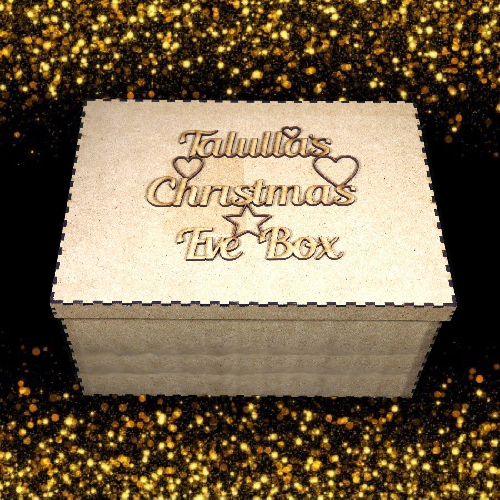 BR-Crafts MDF Christmas Eve box